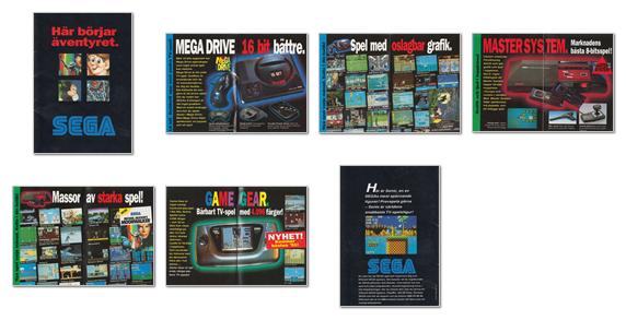 Megadrive, Master System & Gamegear 1991